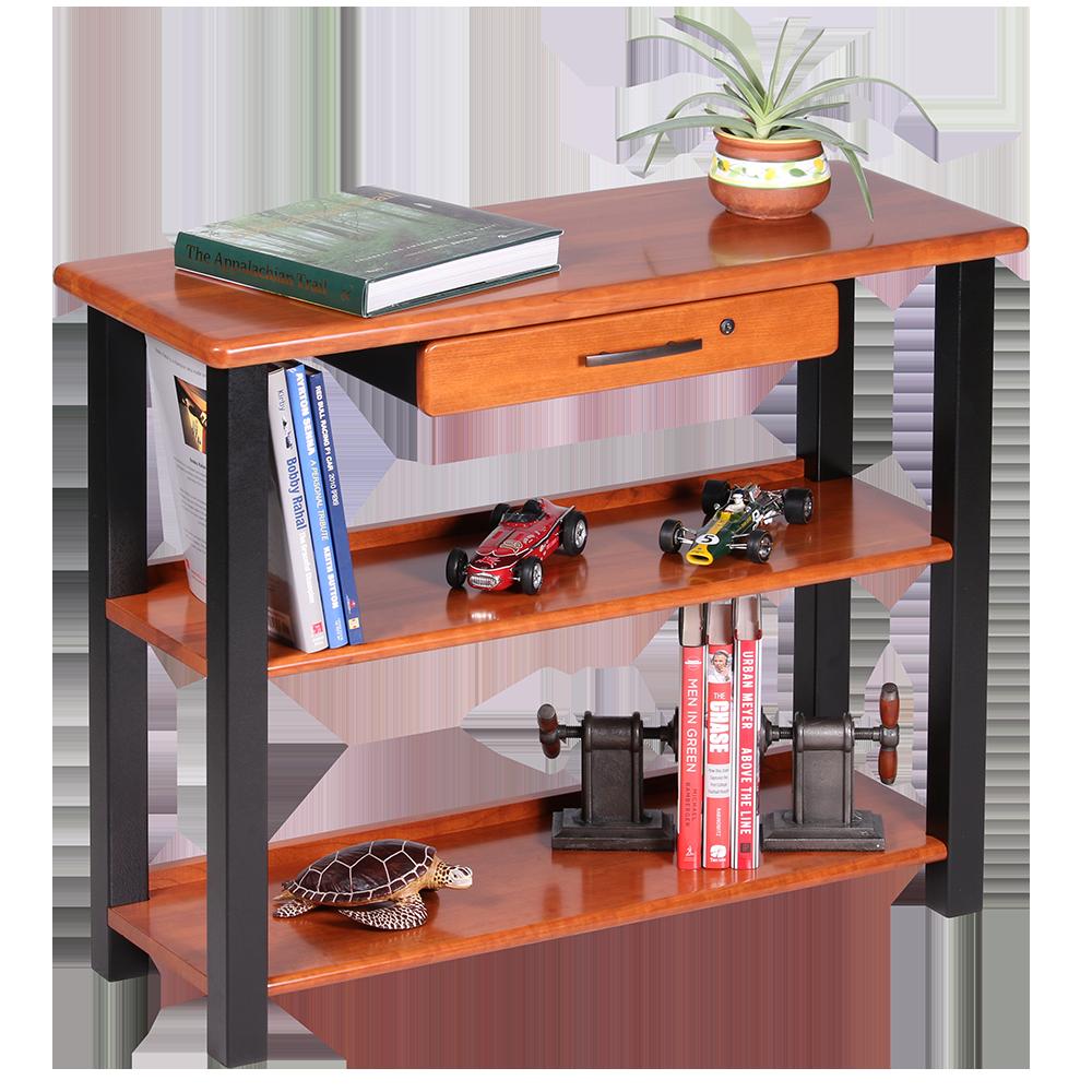 standing computer desk full caretta workspace. Black Bedroom Furniture Sets. Home Design Ideas
