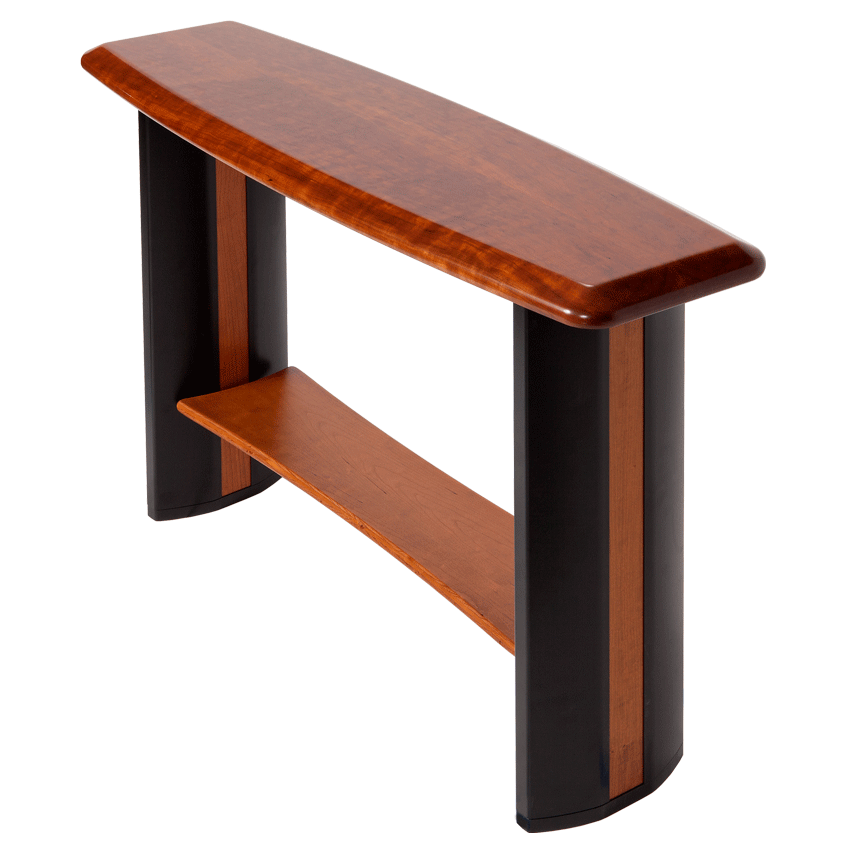 Affordable The Caretta Console Table With Side Top View Png