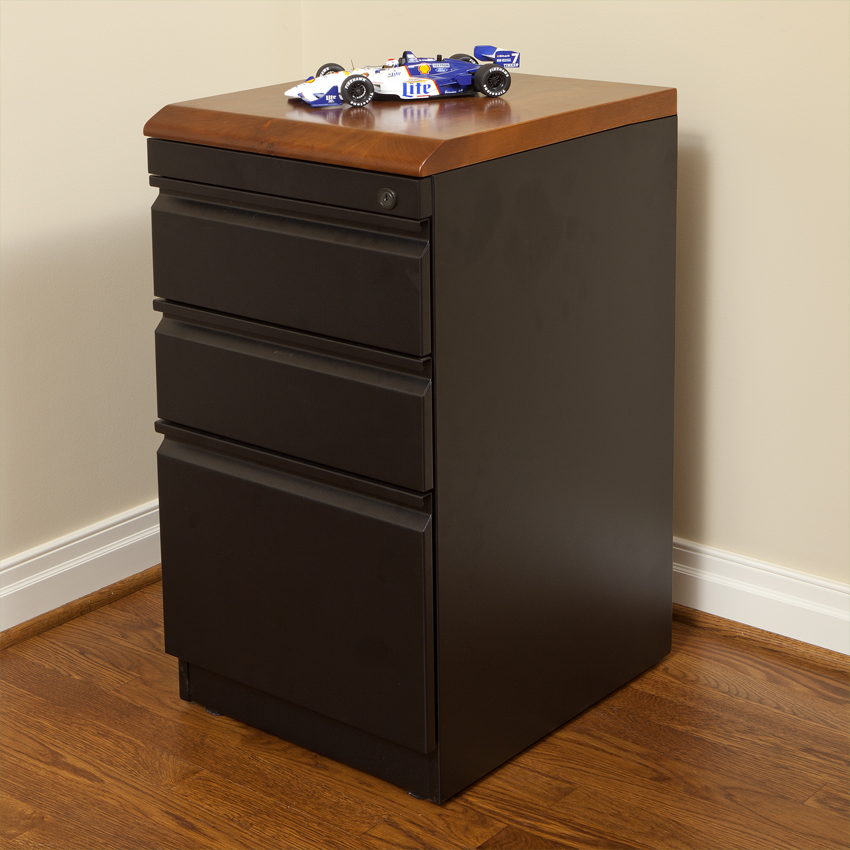 Box Box File  Cabinet with Premium Wood Top