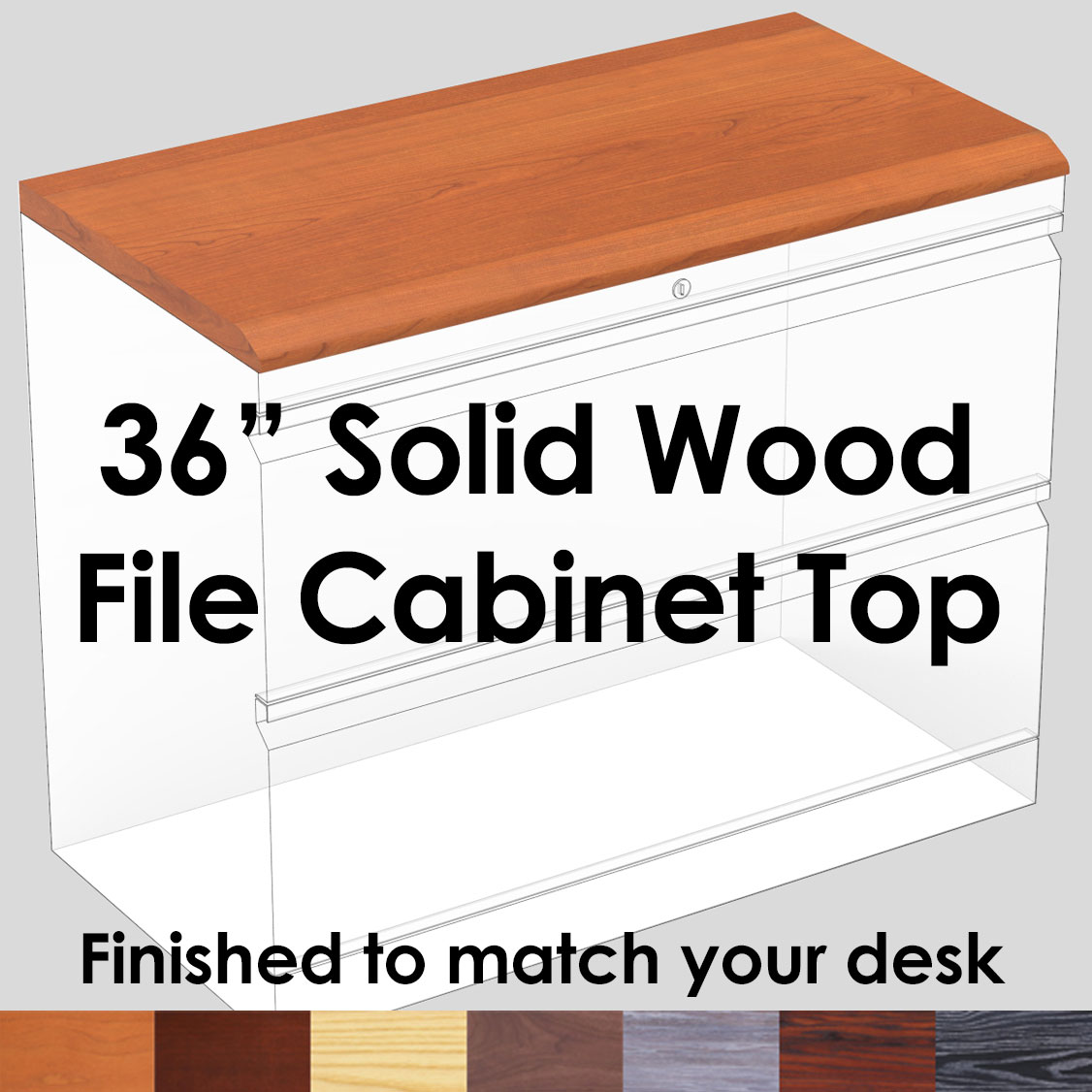 File Cabinet Top 36