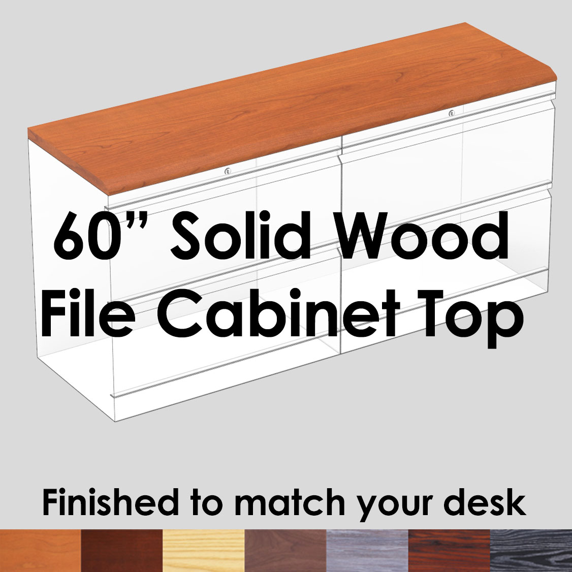File Cabinet Top 60