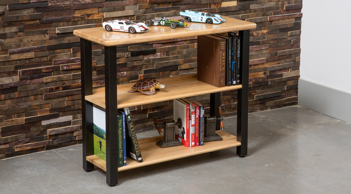 Ash Bookshelf Table