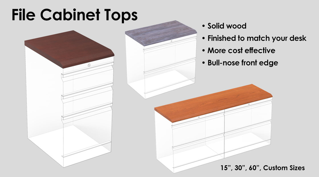 File Cabinet Tops