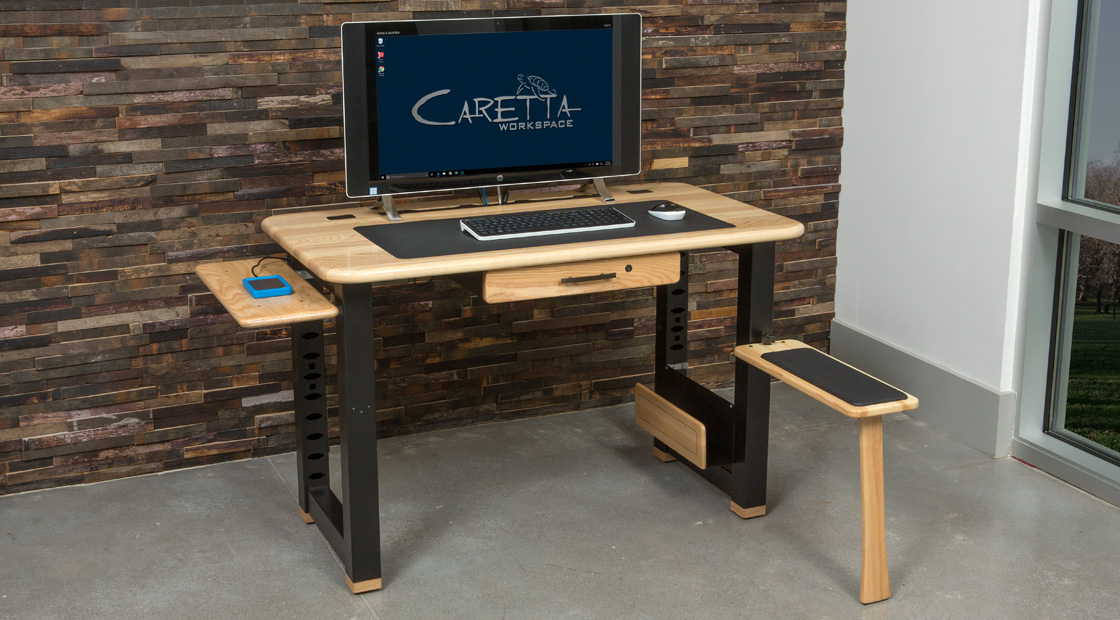 Loft Desk with Accessories
