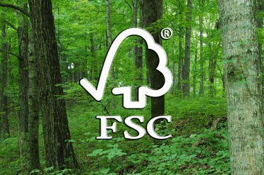 FSC certified wood source